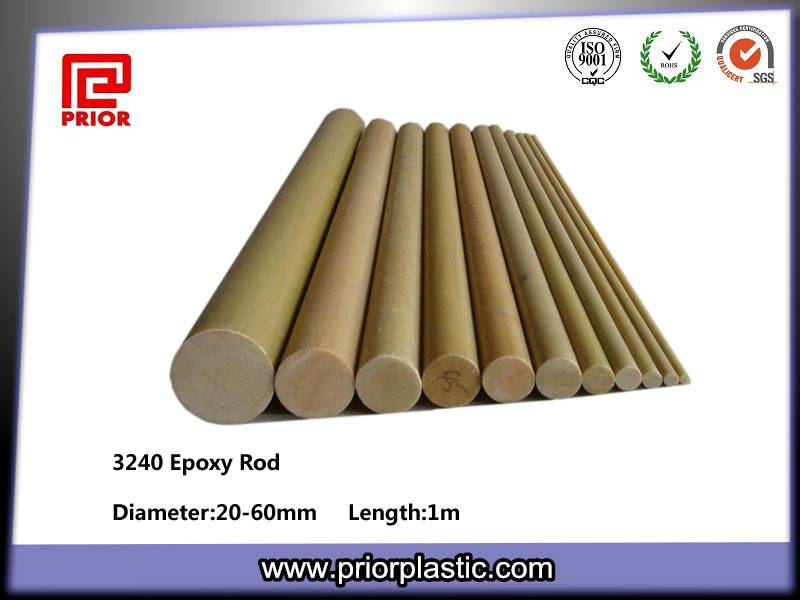 Epoxy fiber glass rod
