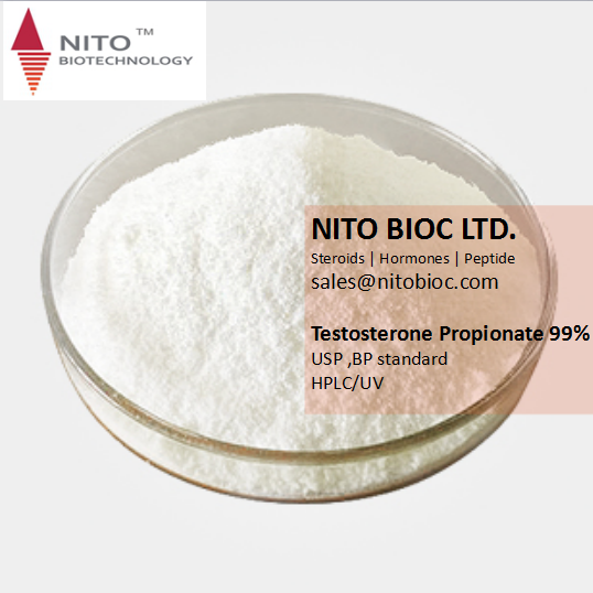 Nito Hot Sell Strong Steroid Testosterone Propionate for Bodybuilding, factory quality control