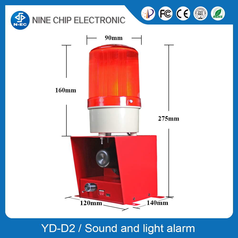 Explosion Proof Sound and Flashing Light Alarm, Warning Indicator System,Alarm Annunciator