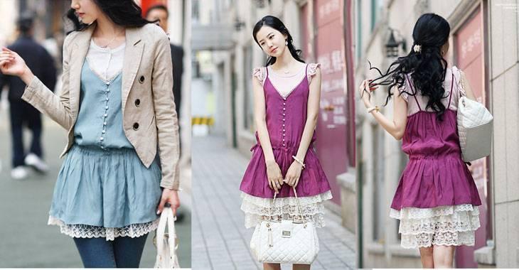 sweet lace Dresses-jjfashion
