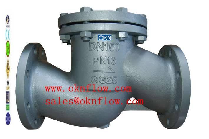 16  LCC/LCB/LC1/LC2/LC3/LC4 flanged check valve
