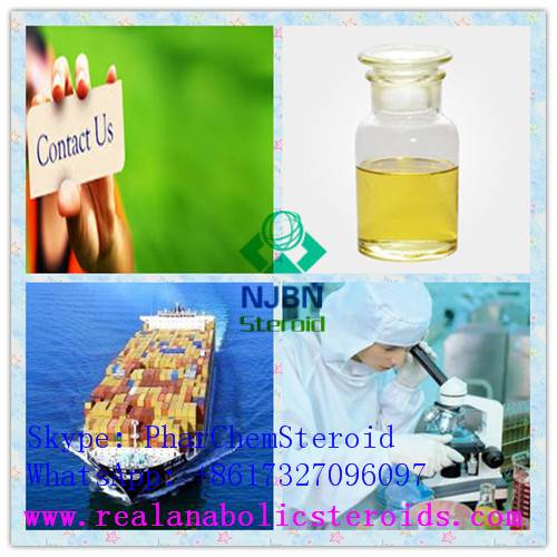 Yellow Liquid for Muscle Building CAS 13103-34-9 Boldenone Undecylenate