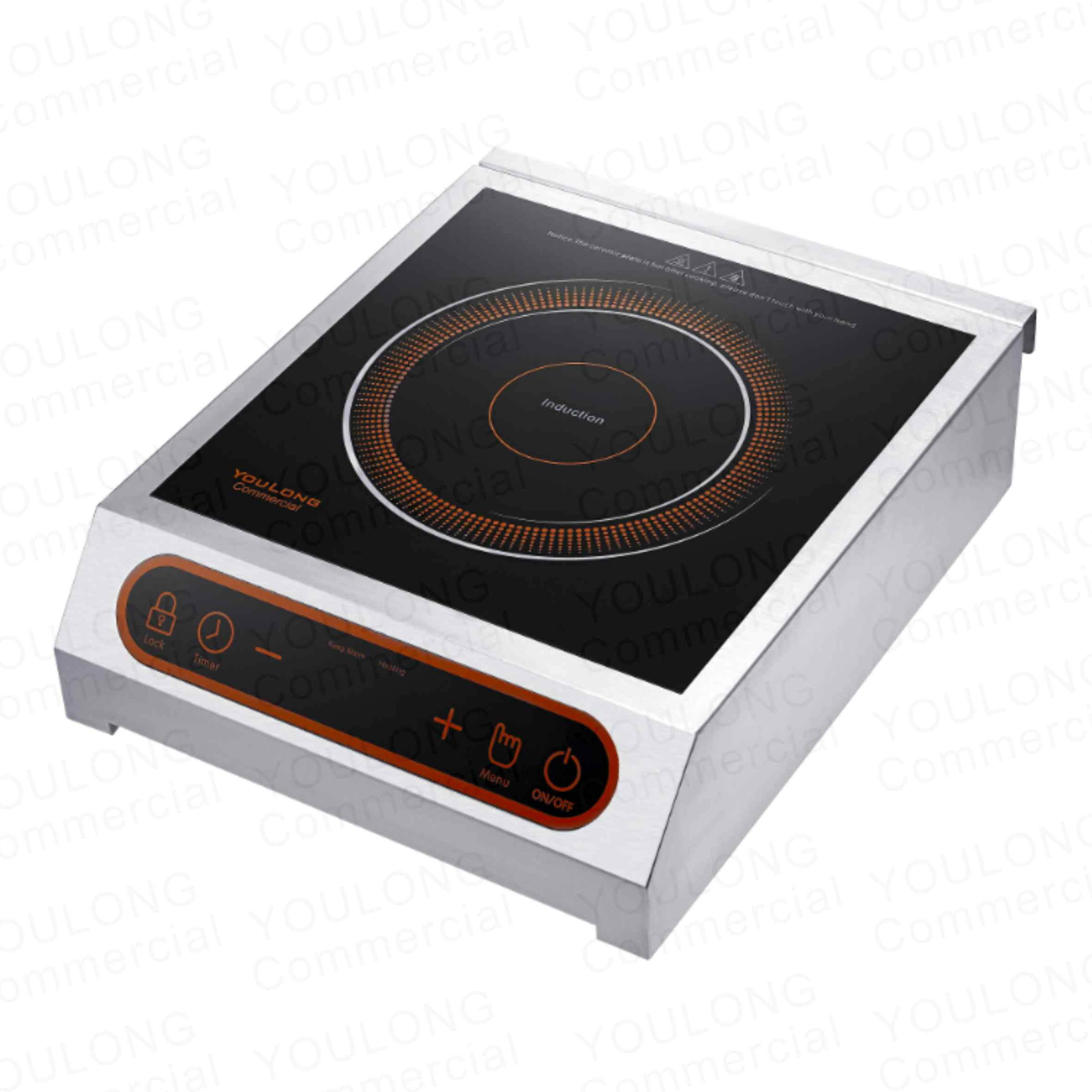 commercial induction cooker C3501-S Touch Control
