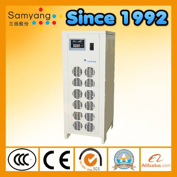 High power air cooling galvanization rectifier with IGBT
