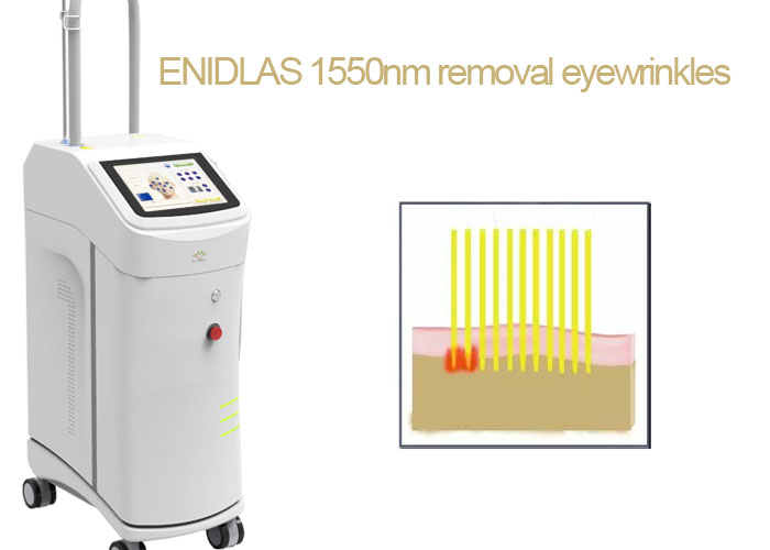 High Energy 1550nm Laser Therapy Machine For Eliminate Eye Bags / Eye Wrinkles