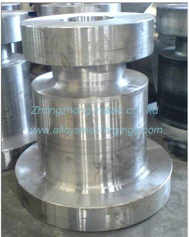 Alloy Steel Forgings Gas / Oil Industry Tubing Spool