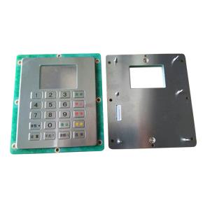 IP65 waterproof kiosk metal keyboard with function keys