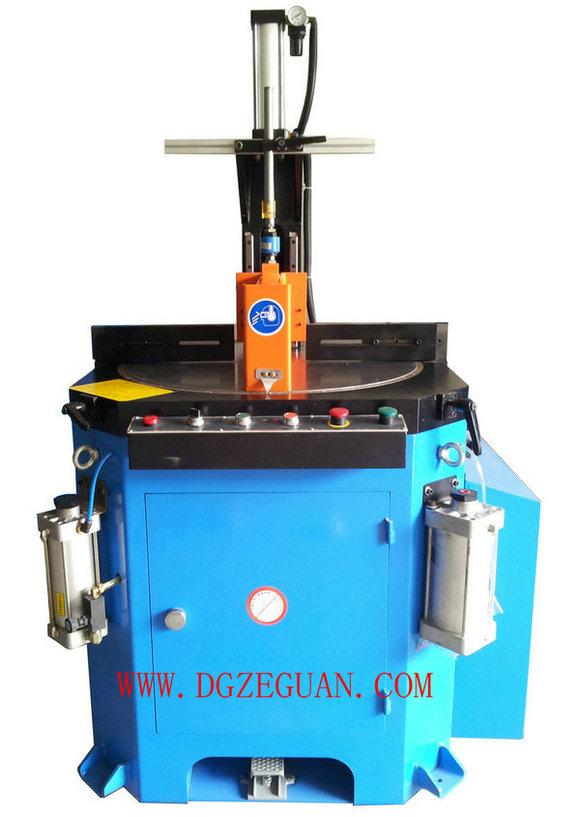 rotary plate type Angle sawing machine, rotary plate type aluminum Angle cutting machine