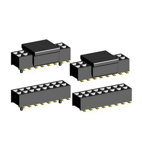 PCB connector 2.0mm smt type Female Header with optional peg