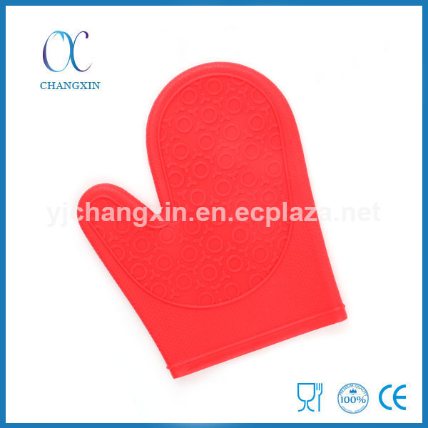 High Quality Heat Insulation Kitchen Silicone Barbecue Mitten