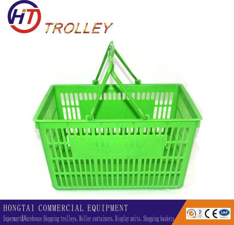 portable grocery baskets plastic shopping basket for sale