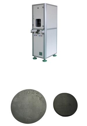 Steel Plate Sample Press