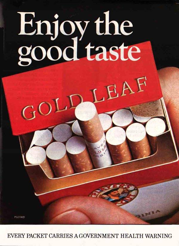 Goldleaf cigarette