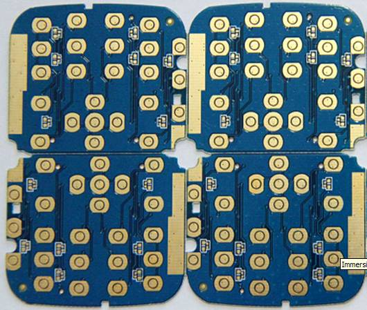 Immersion gold 2 layers PCB
