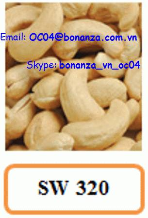 Cashew Nut Scorched Whole 320 - SW 320