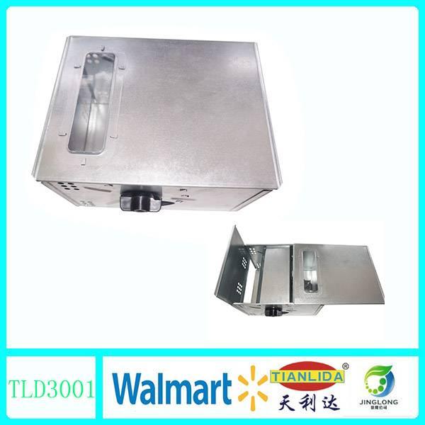 Metal live mouse trap box JL3001