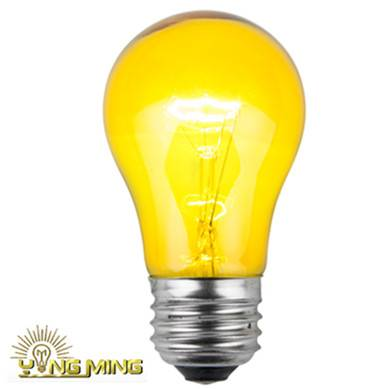 A15 Color Print Incandescent Bulb