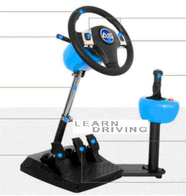 A3 driving simulator