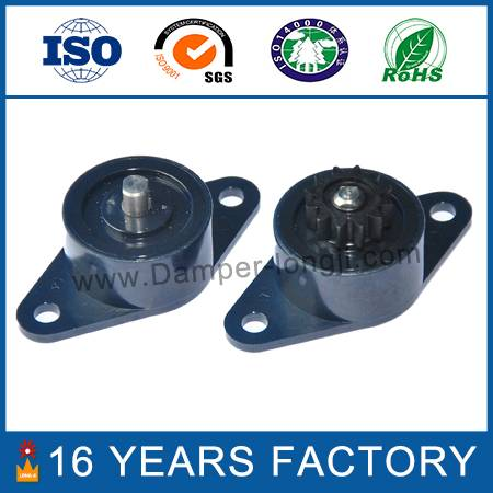 Both direction plastic oil rotary damper