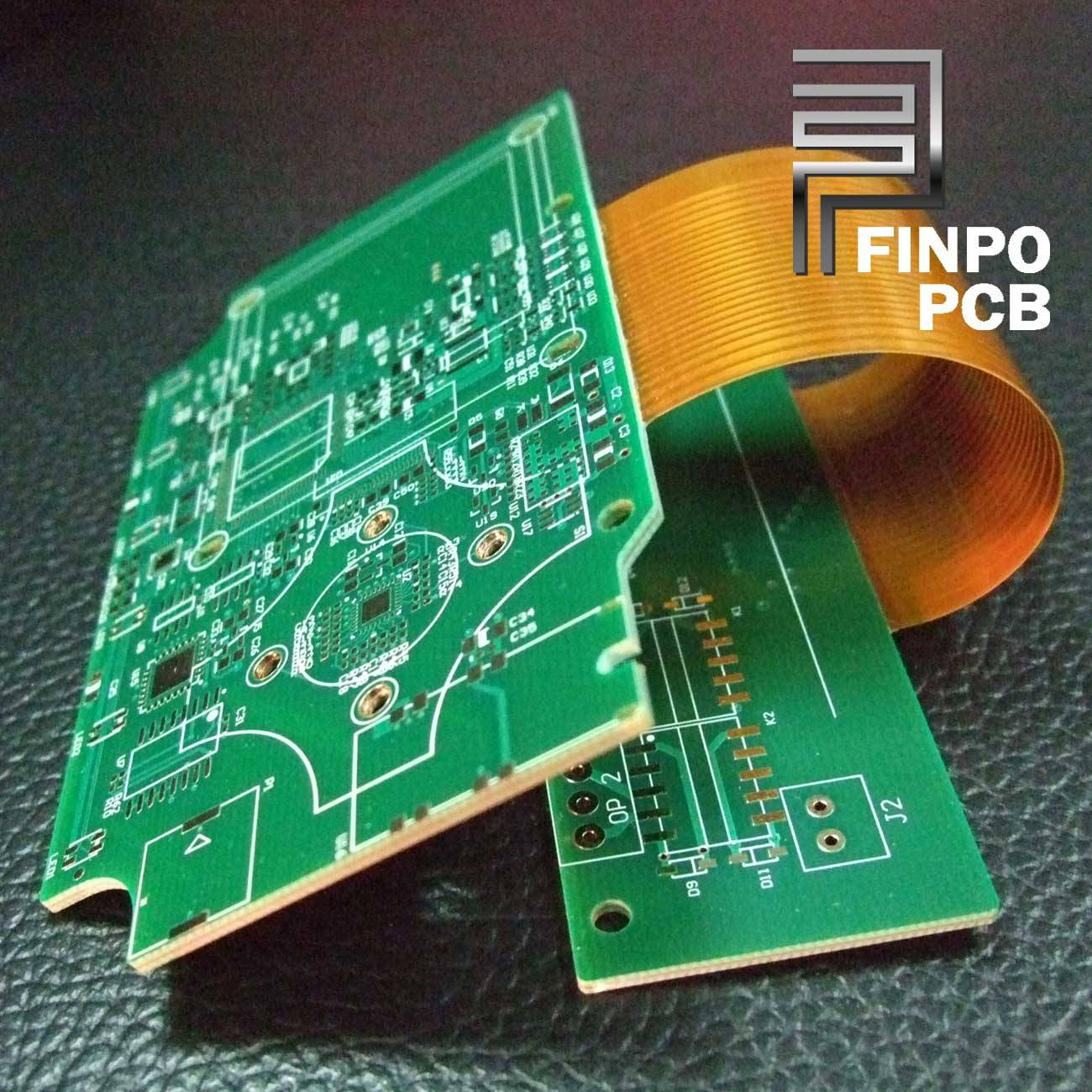4L Rigid-Flex PCB, 4L Rigid-Flex Board