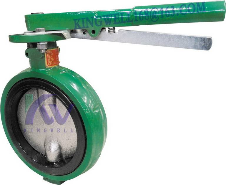 DEMCO interchangeable NED wafer butterfly valve