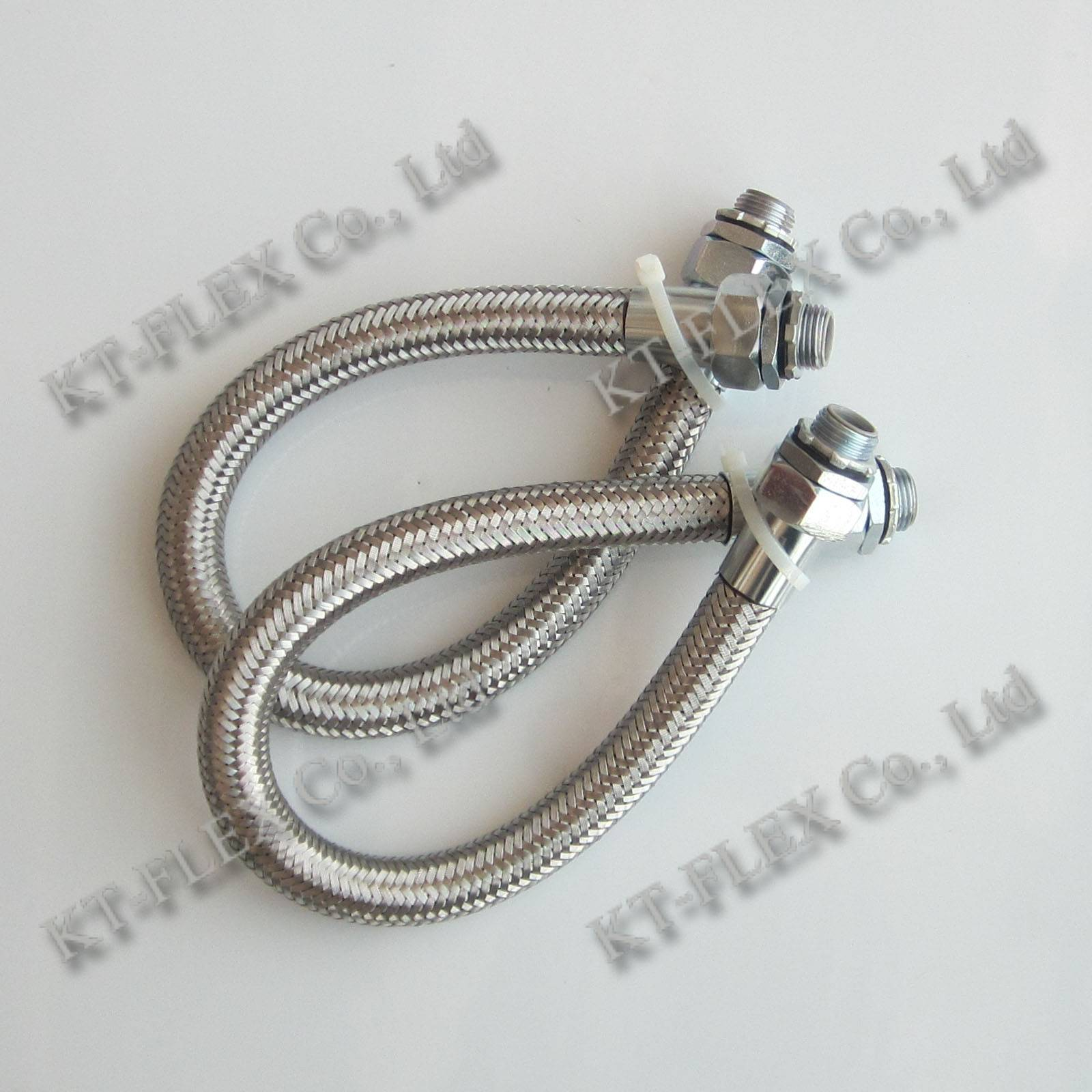 Explosion proof conduit braided electrical conduit