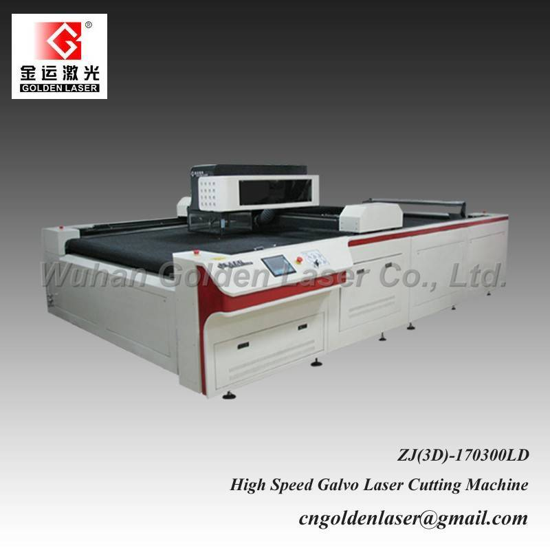 Laser Cutting Machine for Soft Toy Fabrics