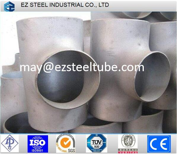 Steel Pipe Tee for Pipe Line, Stainless Steel Fitting