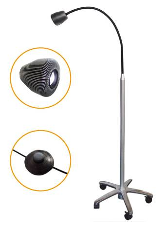 Micare JD1300L Mobile Stand Type LED Exam Light