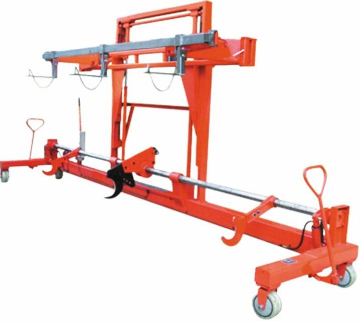 Twin Warp Beam Trolley With Harness Mounting Device- Hydraulic