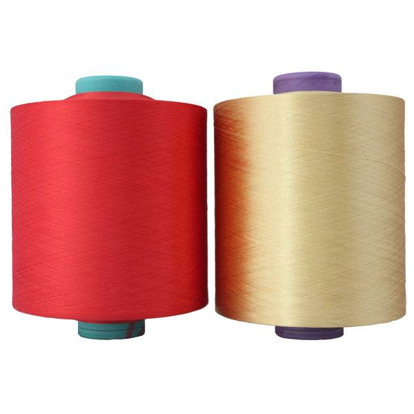 150/144 color dty polyester yarn