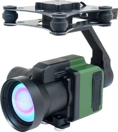 High Definition 3-Axis and Military Gimbal Drone and UAV Thermal Payload Camera Manufacturer from Ch