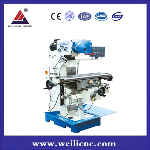 X6332A Universal radial drilling milling machine with Taiwan high speed mill head
