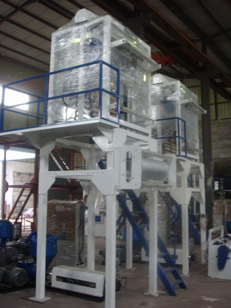 Rotary-Die LDPE/LLDPE Film Blown Machine