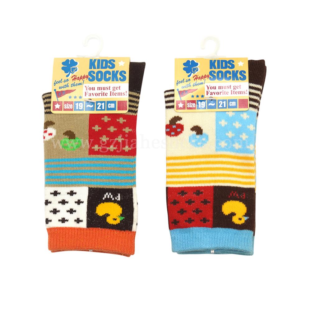 High Quality Cotton pattern Children's Socks