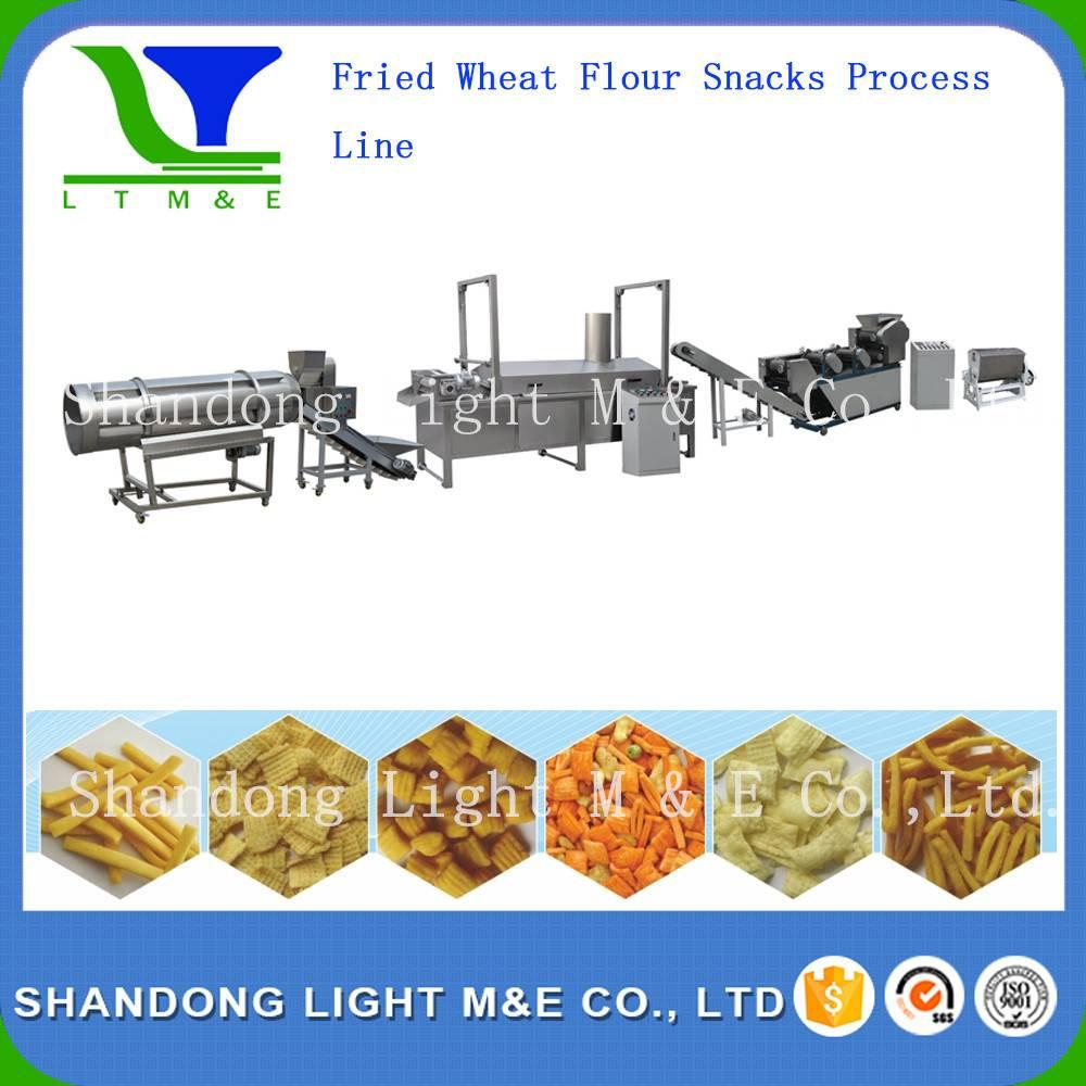 Fried Wheat Flour Snacks process Line