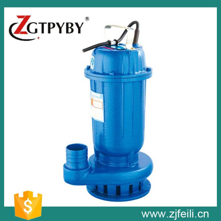 high quality submersible sewage water pump made in China