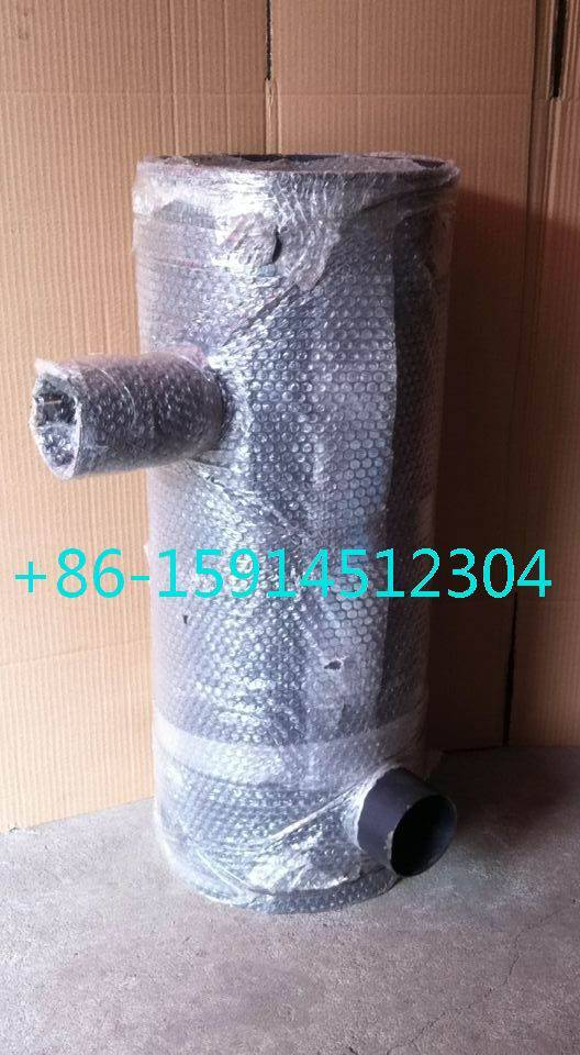 hyundai R305-7 muffler with tube clip 3966841