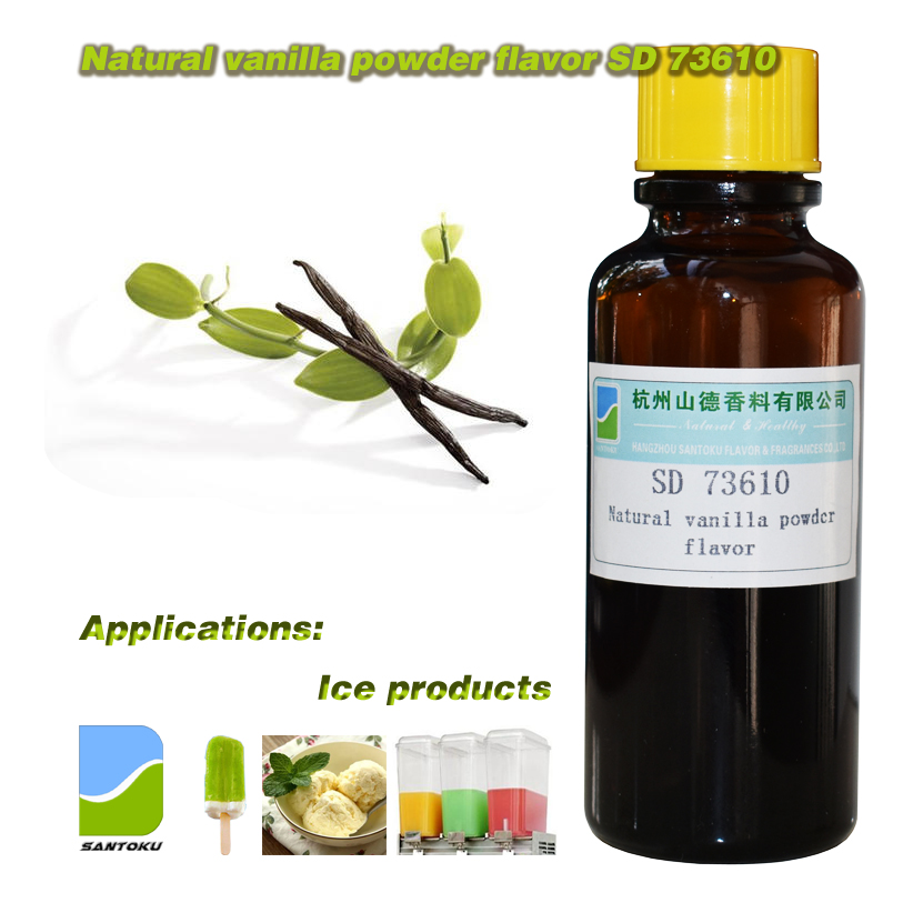 Natural vanilla powder flavor SD 73610
