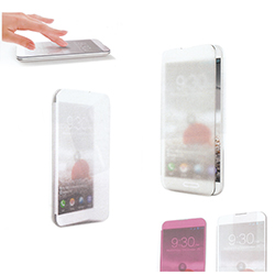 SMART PHONE CASE DESIGN-Touch cover type