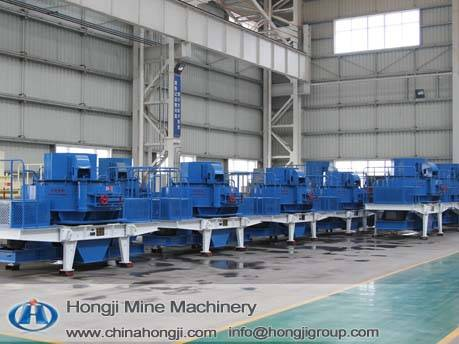 Sand making machine with new technology
