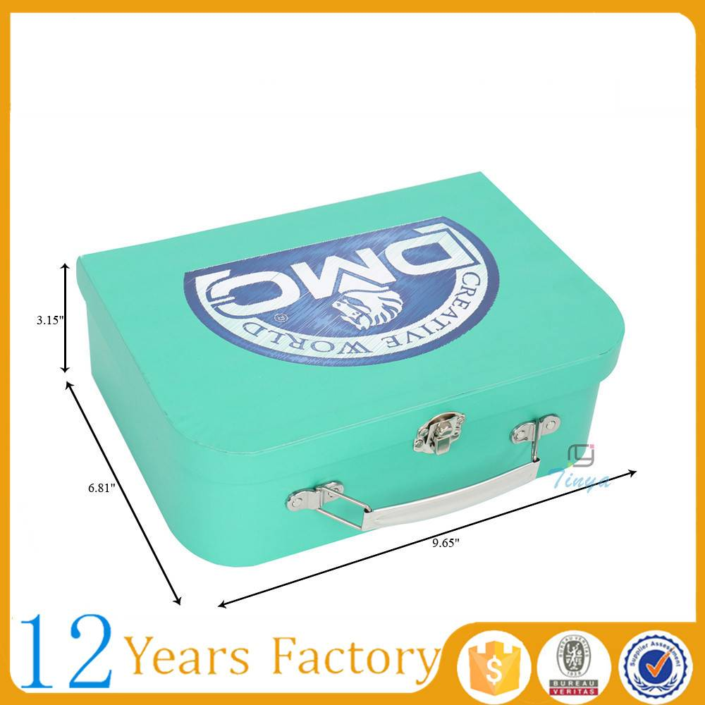 gift box fancy paper suitcase wholesale