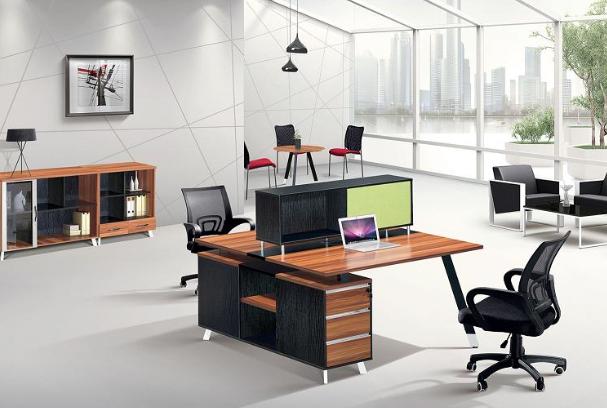modern office staff table ,staff desk worksatation(PG-15A-2C)