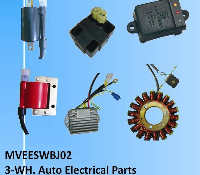 Bajaj Three wheeler Auto Electrical parts