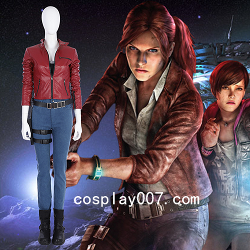 Resident Evil 2 Remake Claire Redfield cosplay costume customize