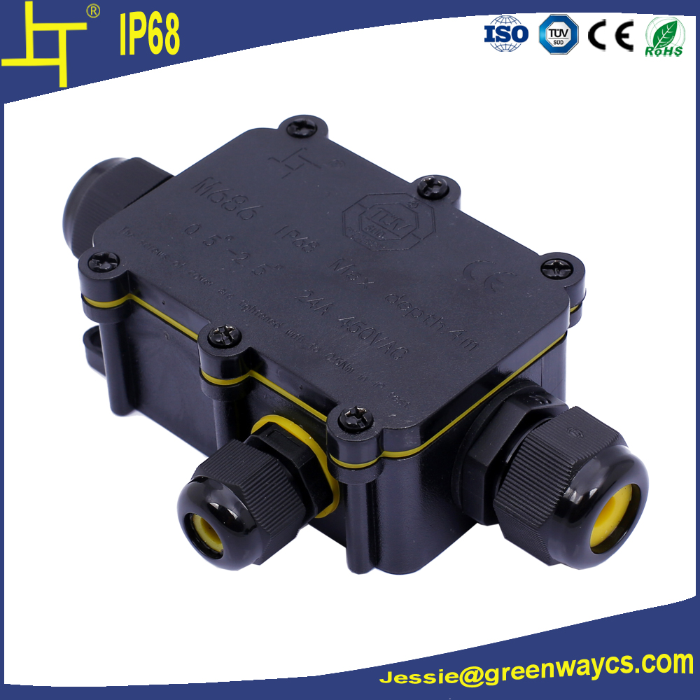 hot sale ip68 outdoor waterproof junction box