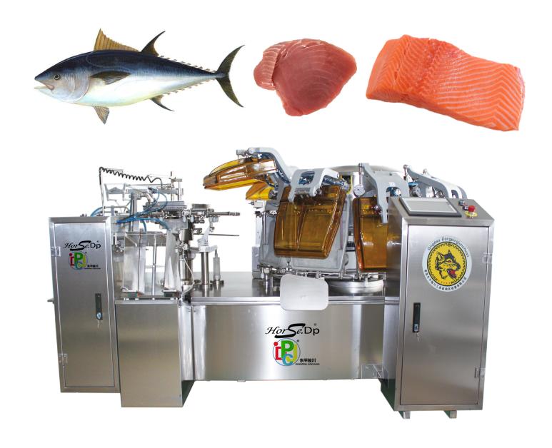 Automatic Seafood Tuna Fish Sardines Fish Vacuum Packing Machine