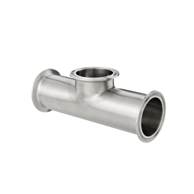 Sanitary stainless steel clamp fittings short outlet tee B7MPS