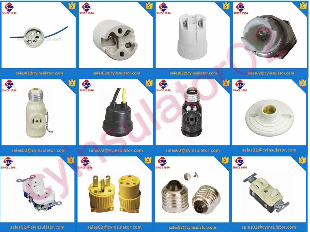 plastic socket and plug for south american market