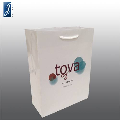 Customized small gift bag for TOVA